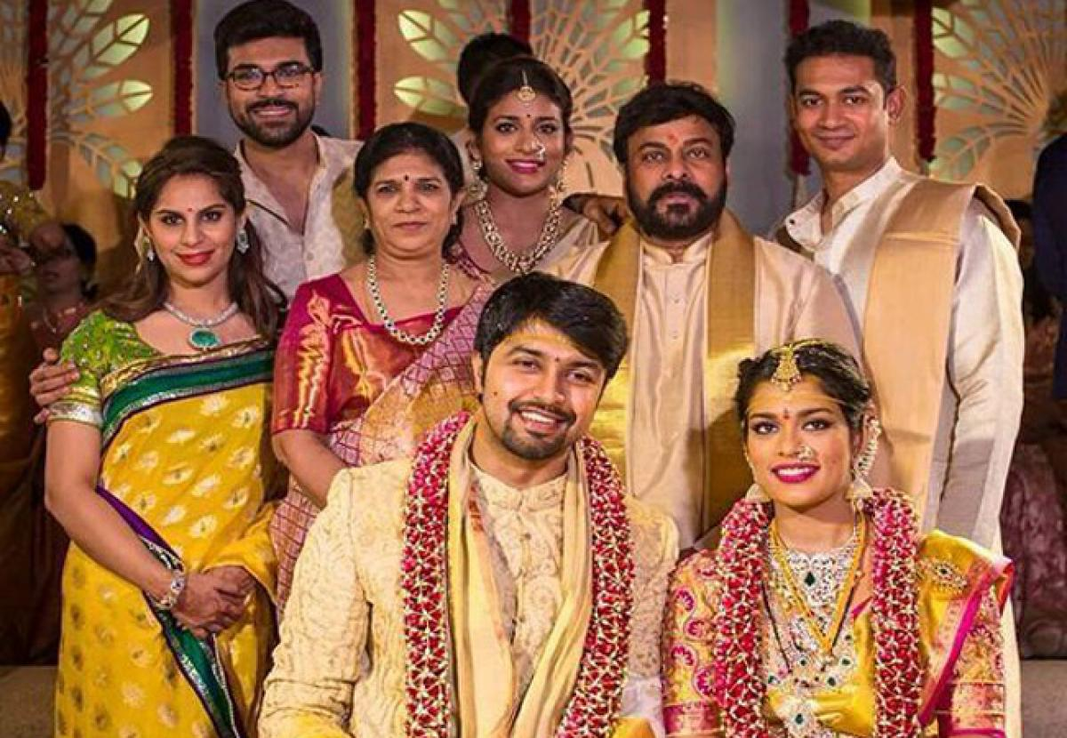 Check out Chiranjeevis daughter Srija wedding pictures!