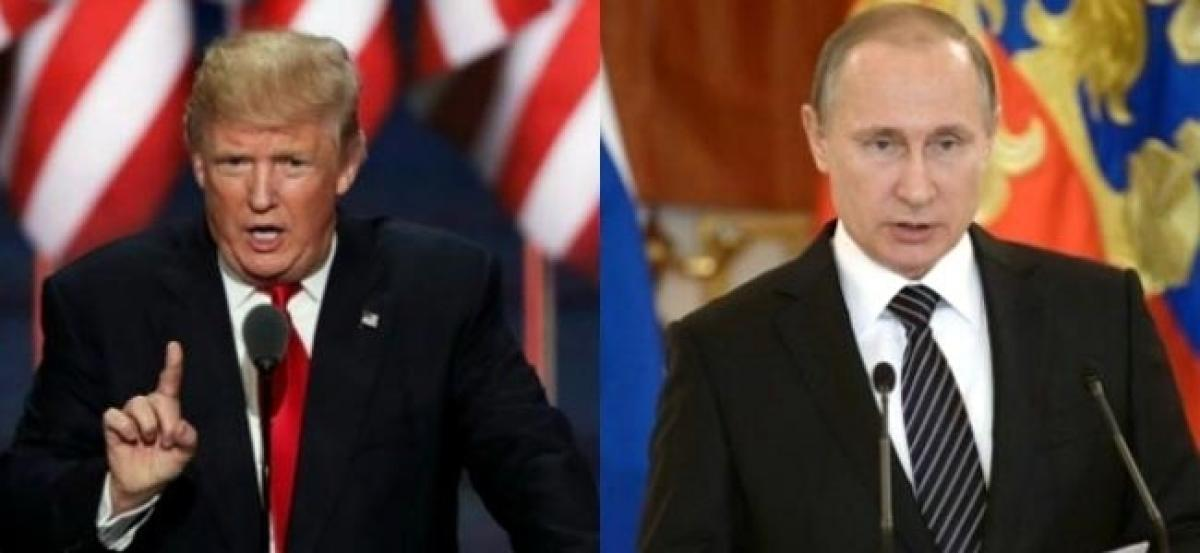 Donald Trump to speak to Vladimir Putin on Saturday