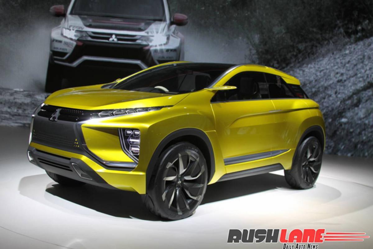Spotted: Honda BR-V rival Mitsubishi concept crossover