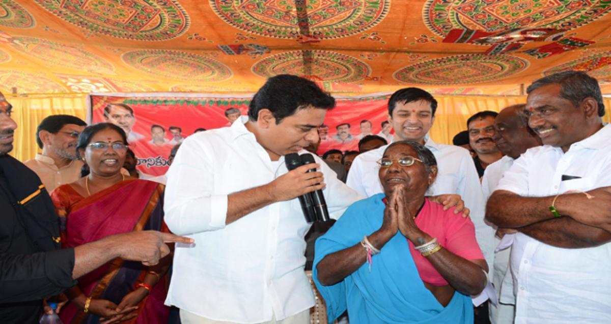 TRS Government is pro-farmer:K Taraka Rama Rao