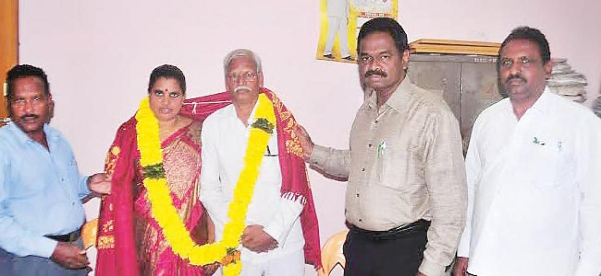 Retired Public Relations official felicitated