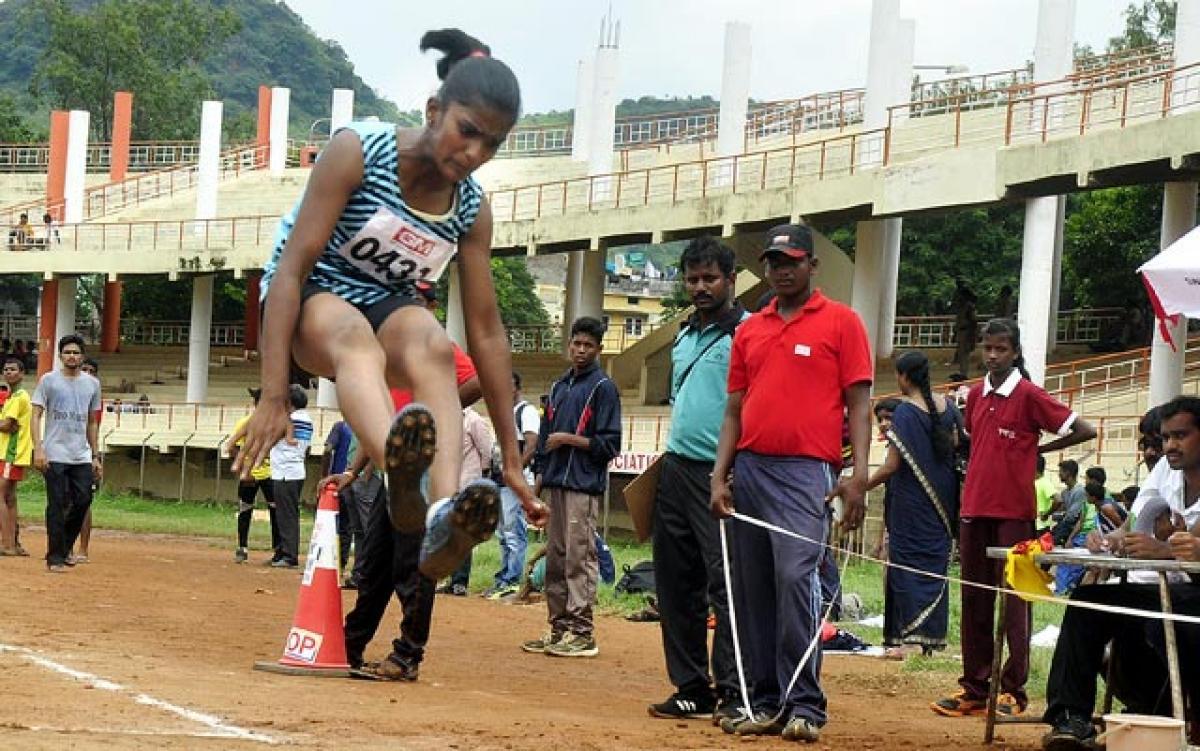 Krishna girls top in State athletics