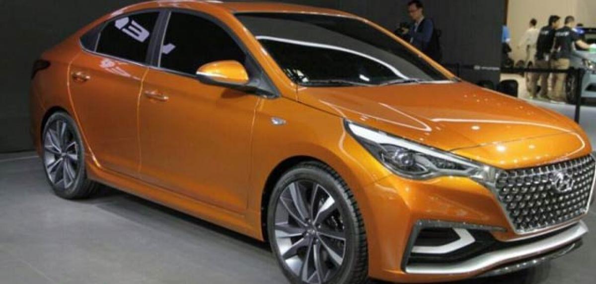 Hyundai Verna concept showcased in Beijing