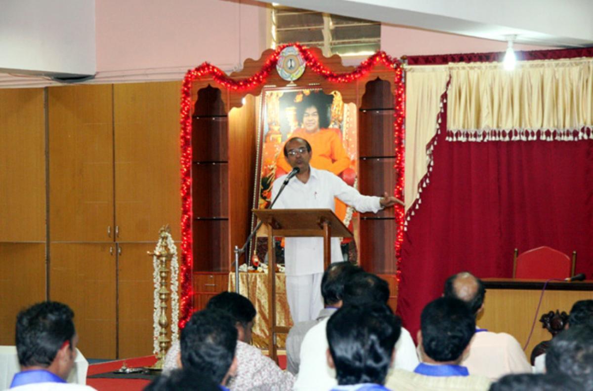 Advocates and Media Men of Kerala familiarizing SAI MISSION