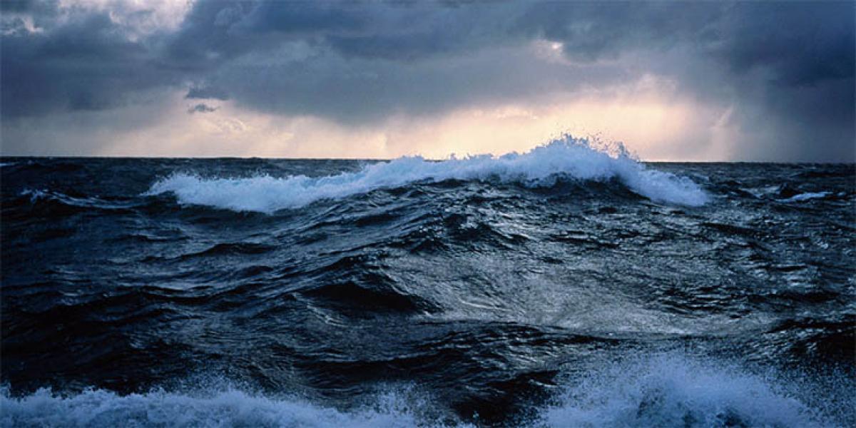 Oceans slowed down global warming