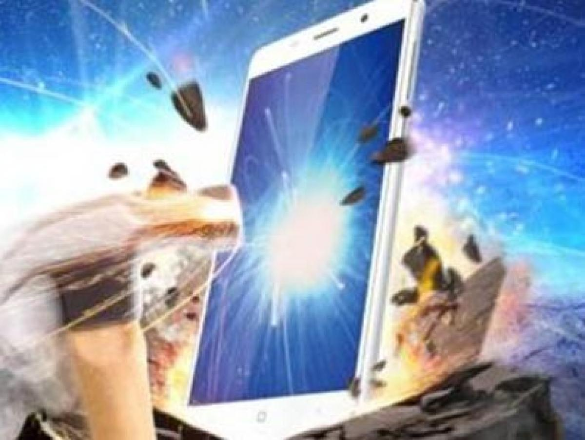 Now a smartphone with bulletproof glass
