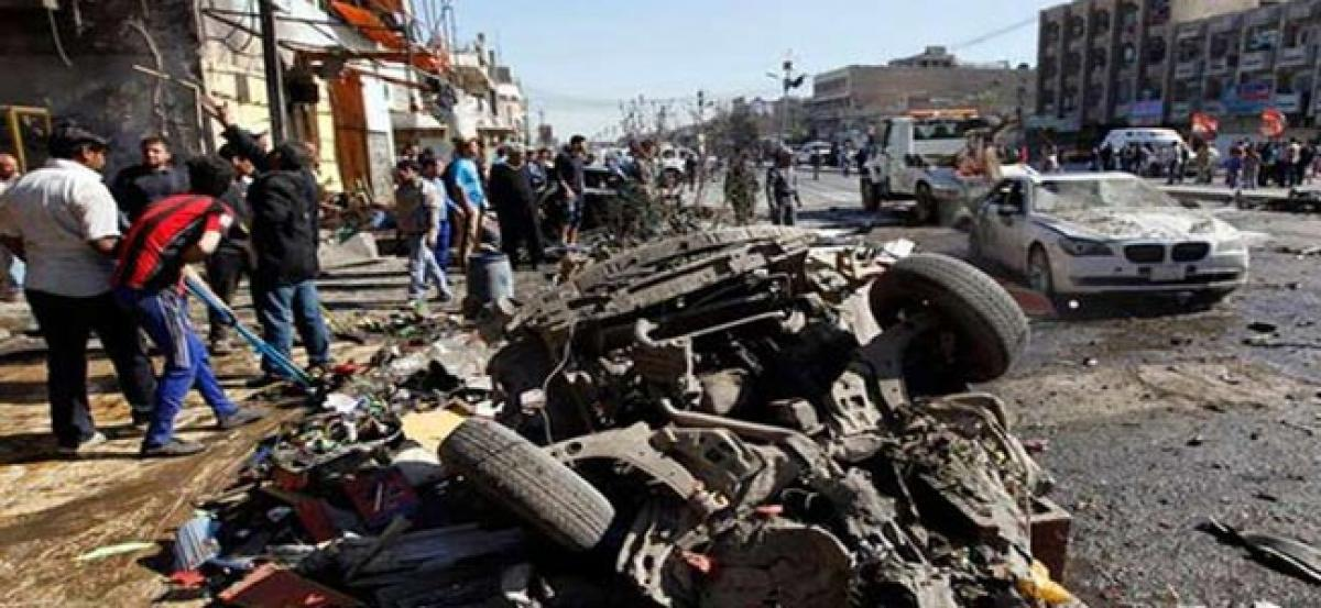 Baghdad car bombing: 5 killed, 7 injured