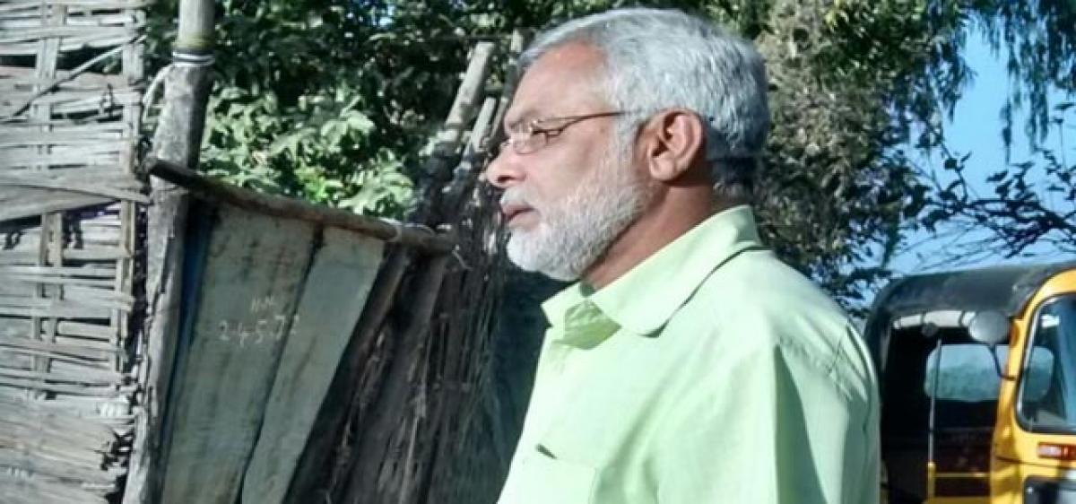 Narendra Modi lookalike in Adilabad