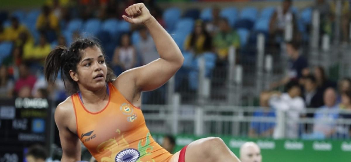 Sakshi loses womens 58kg quarter-final bout in Rio.