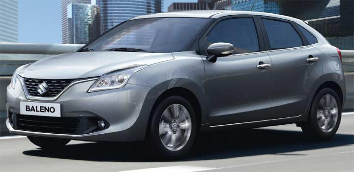 Suzuki Motor unveils Baleno India debut in few weeks