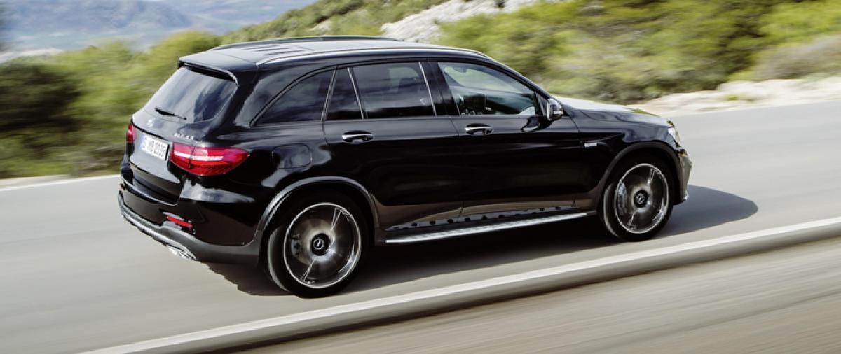 Mercedes-AMG GLC 43 SUV revealed