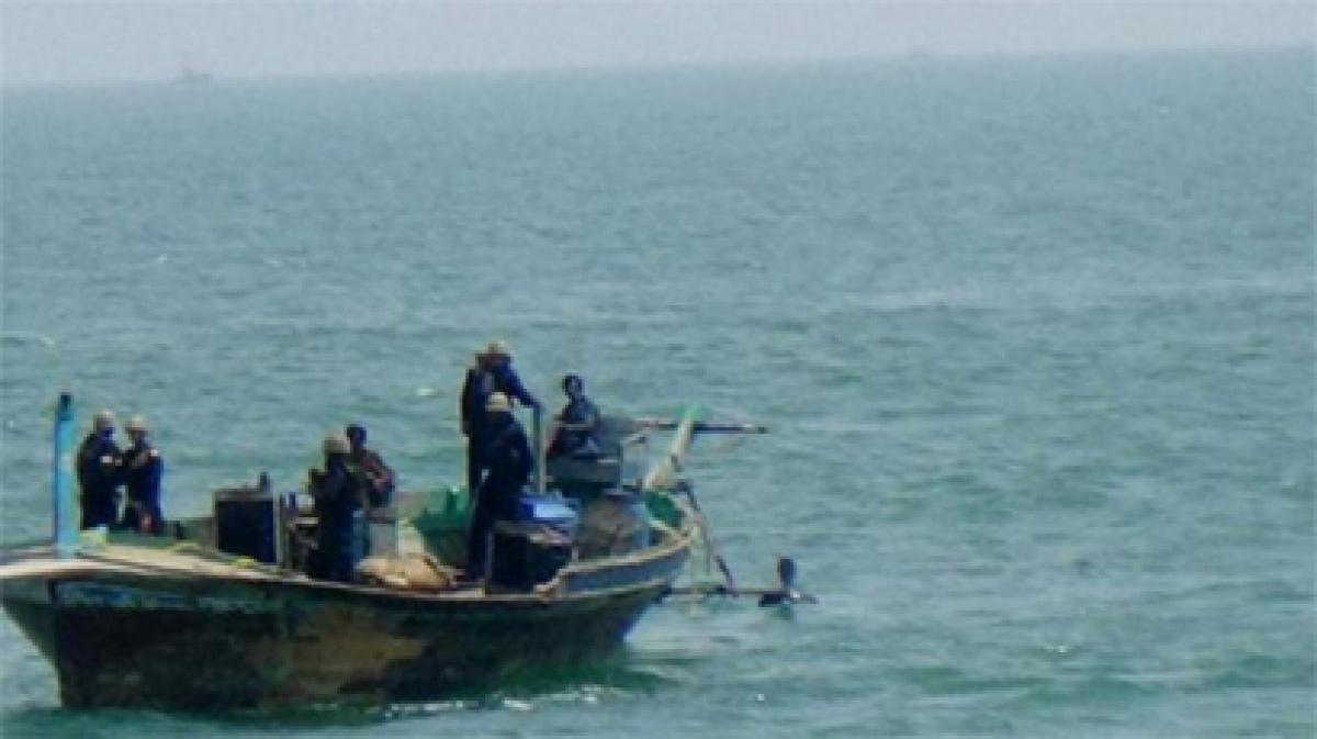 Fire sinks Naval boat off Chennai, probe on