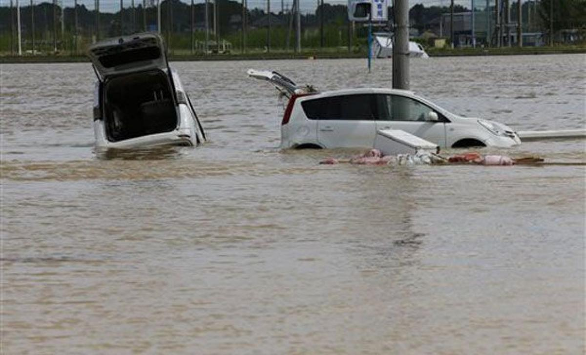 Death toll rises to five after Japan flood: media
