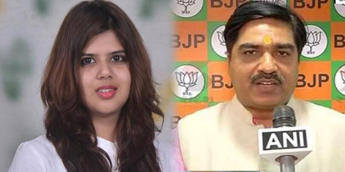 BJP leader booked for using foul language against SP spokesperson