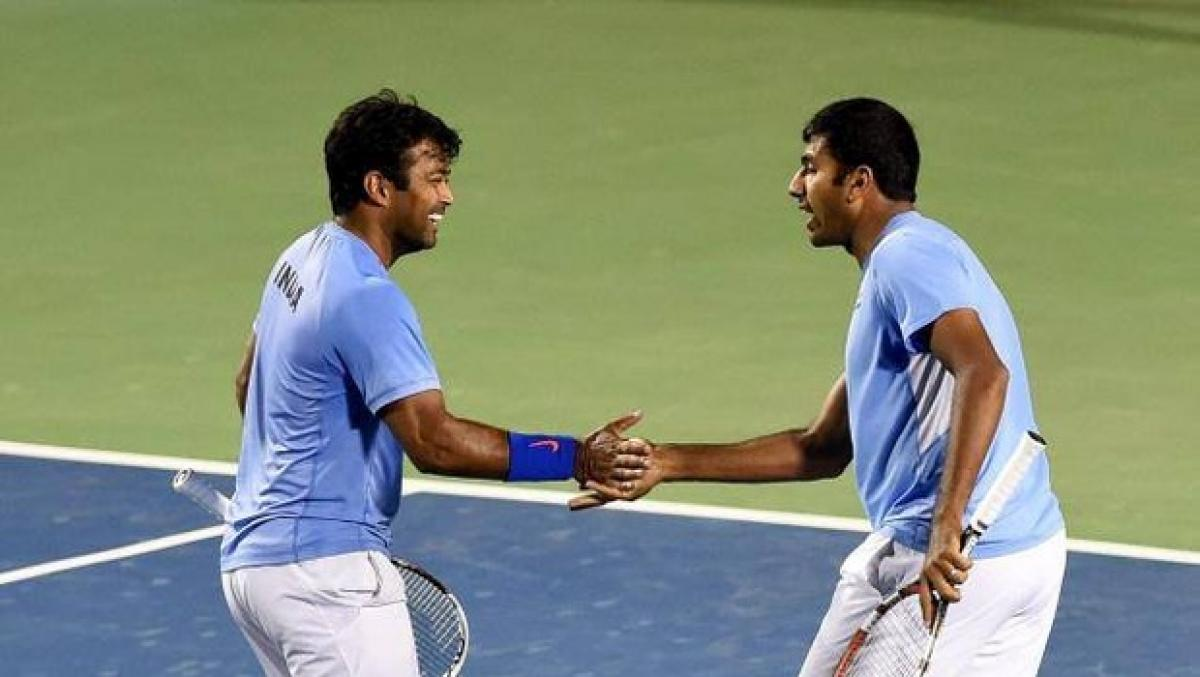Bopanna, Paes were playing against each other on Court at Rio: Social media