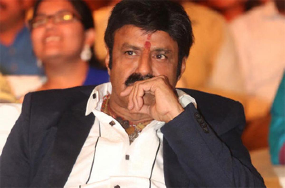 Balayya still waiting for right script for 100th film