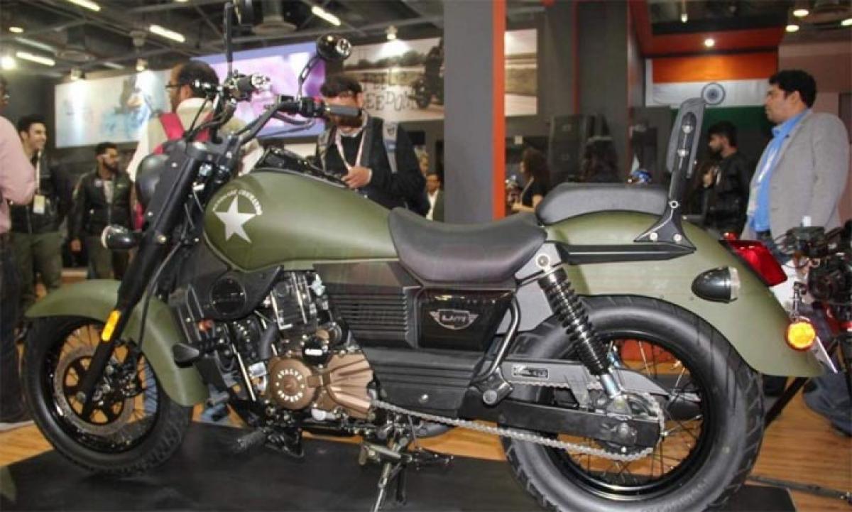Auto Expo 2016 UM Renegade Commando features price in India
