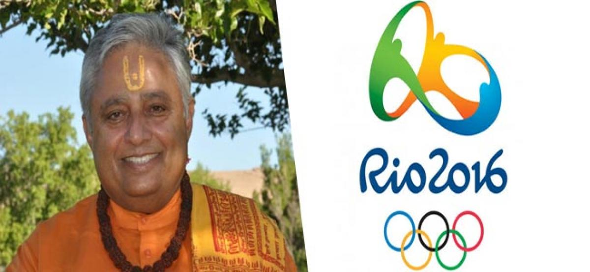 Hindus urge Rio Olympic Games, Hindu Rooms will be properly equipped.