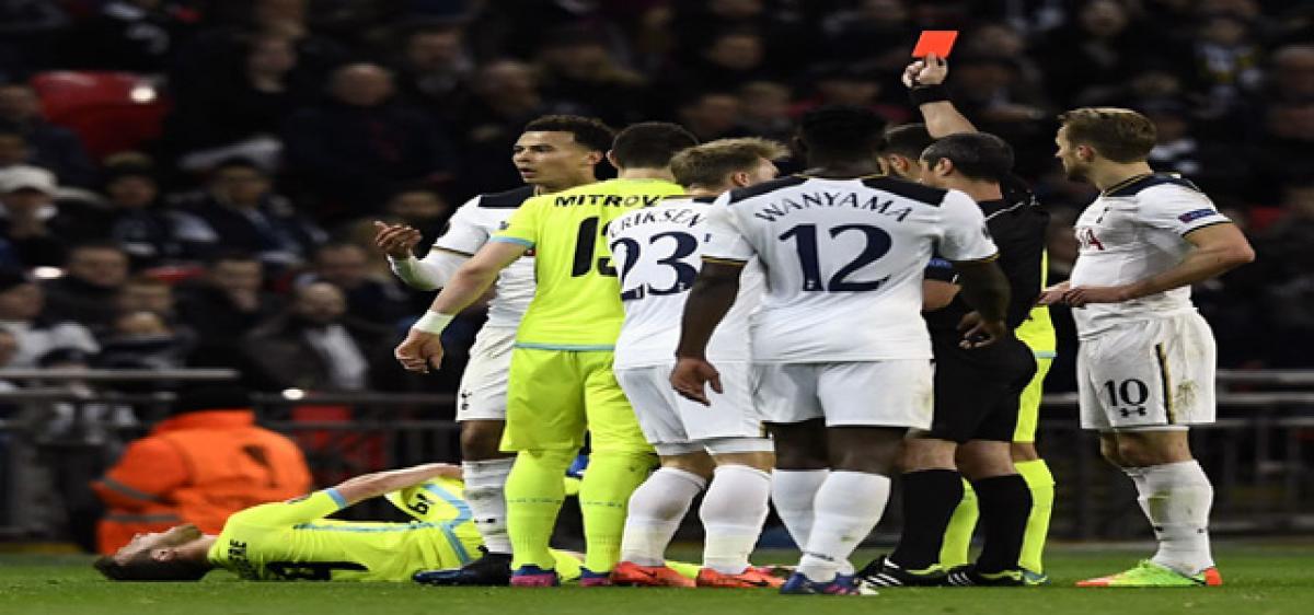 Spurs exit Europa League