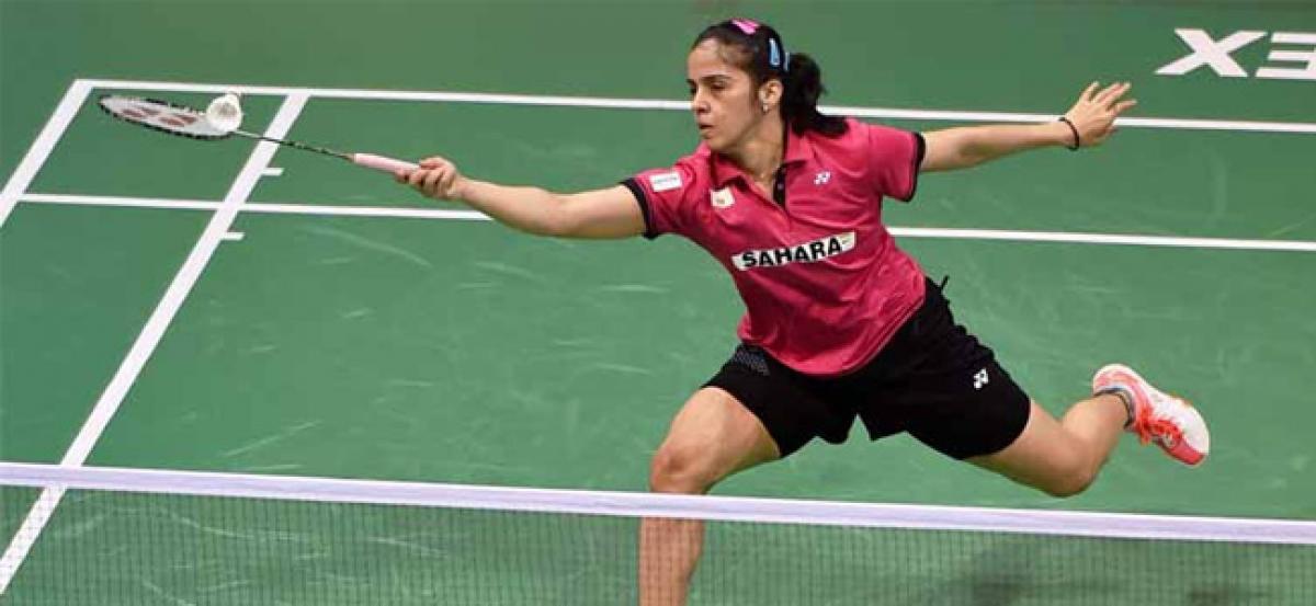 Saina, Jayaram in quarters