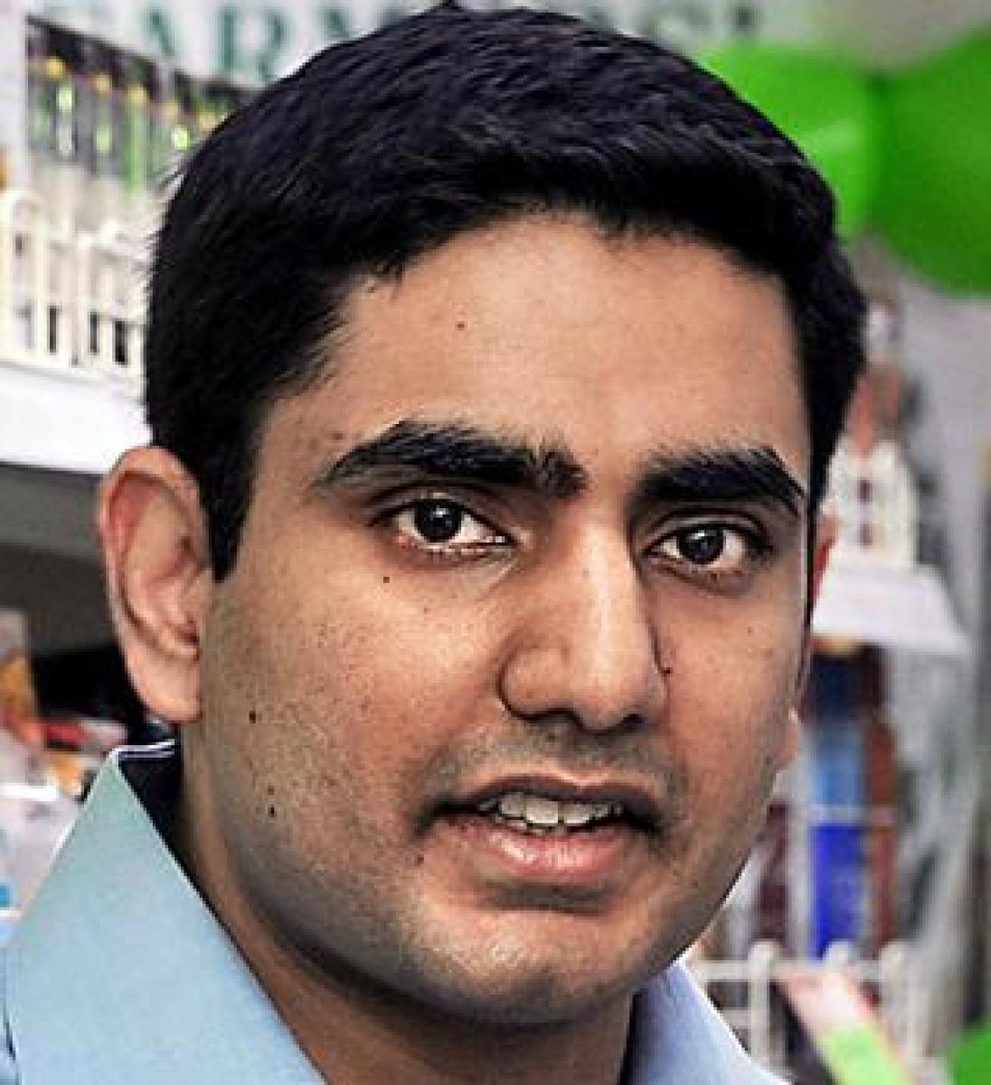 Nara Lokesh: KCR plays street level politics