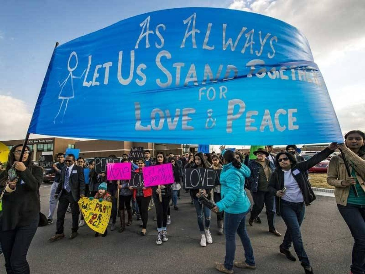 Hundreds of people join peace march in Kansas celebrating the life of Indian techie killed in US