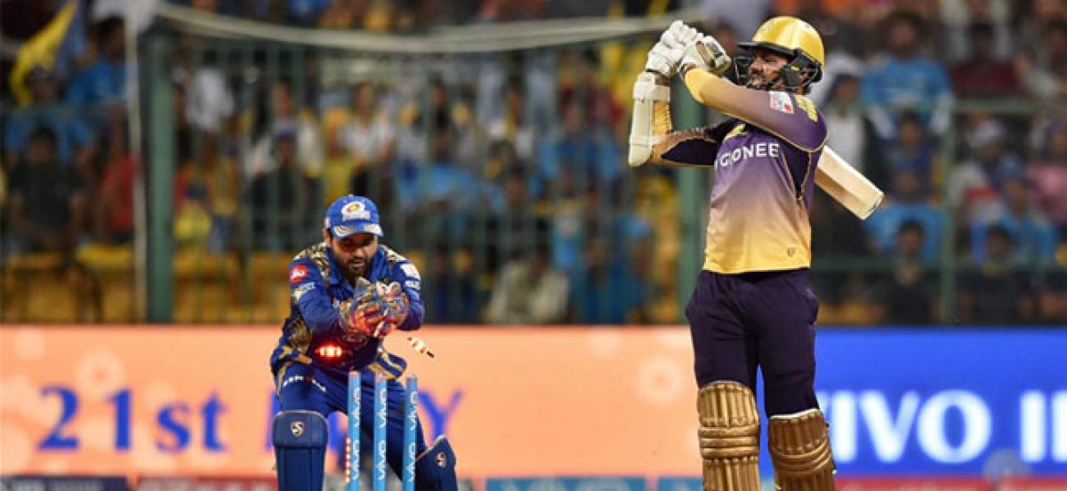IPL-10: Mumbai elect to field vs KKR in Qualifier II