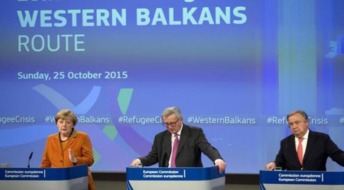 EU, Balkan nations agree on action plan for refugees