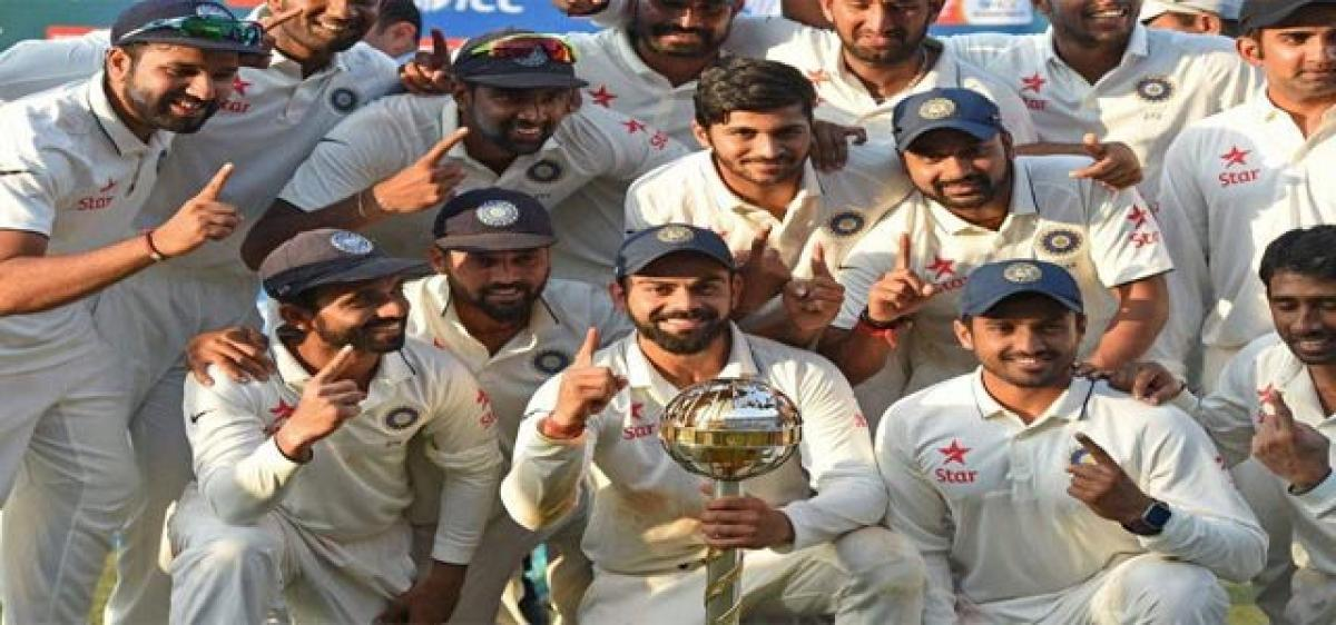 Team India consolidate top ranking