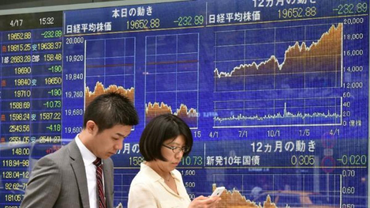 Tokyo stocks down 2.85 percent