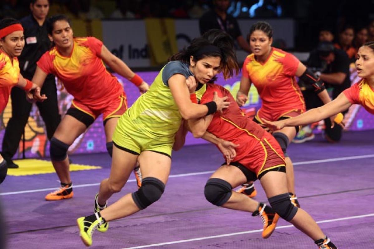 Bengaluru Bulls down Telugu Titans