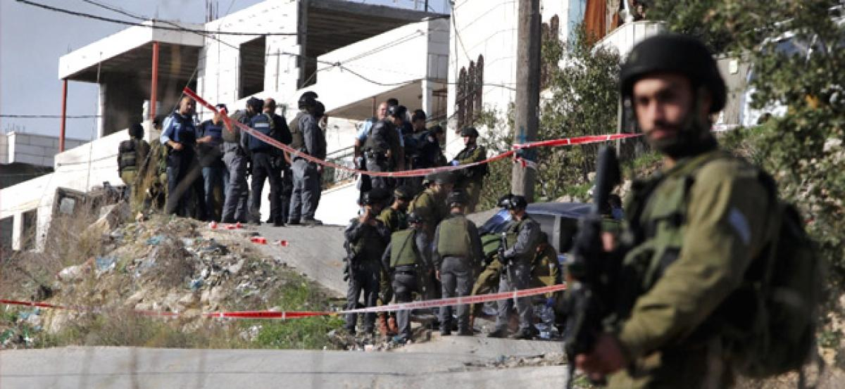 Palestinian attacker killed by Israeli forces: police