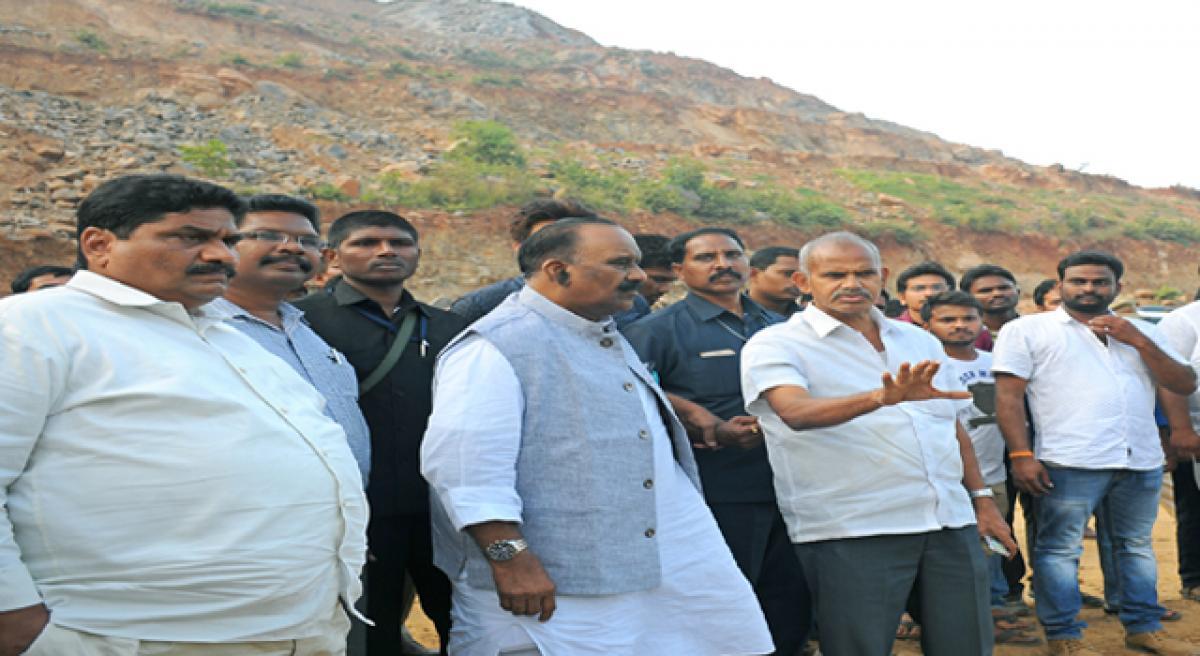 Kondaveedu fort will be a major tourist attraction: Naini Narasimha Reddy