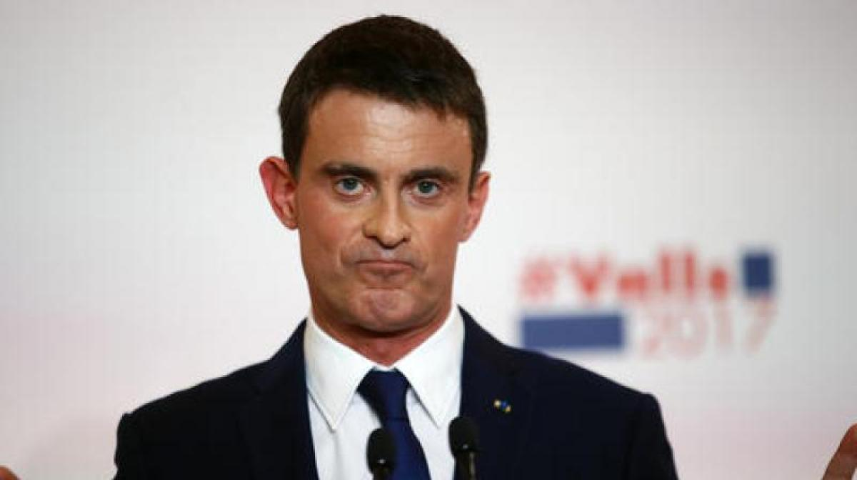 French socialists choose between Manuell Valls, Benoit Hamon in presidential primary