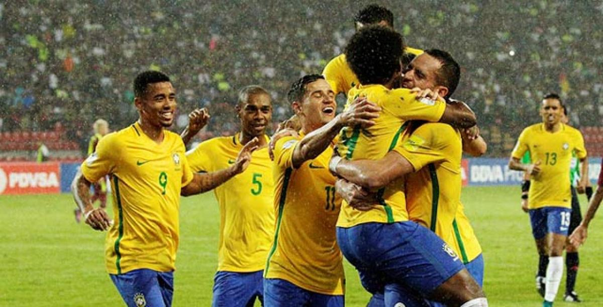 Brazil go atop qualifiers, Argentina stunned