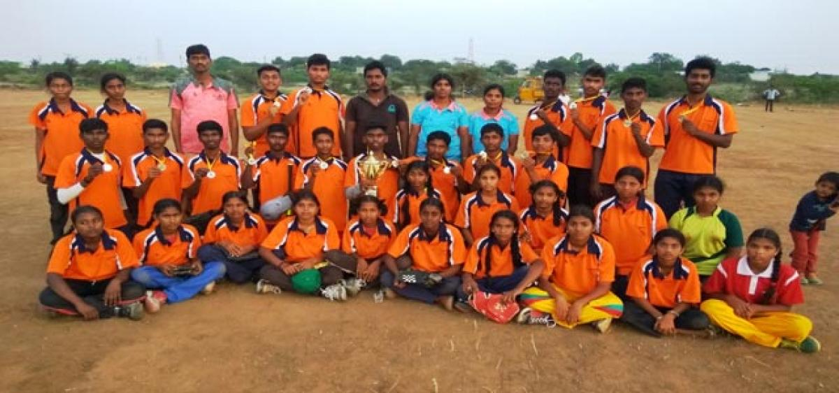 Krishna district baseball teams capture 2nd place in inter district tourney