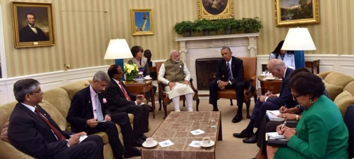 Obama acknowledges Indias commitment to climate change agreement in Paris