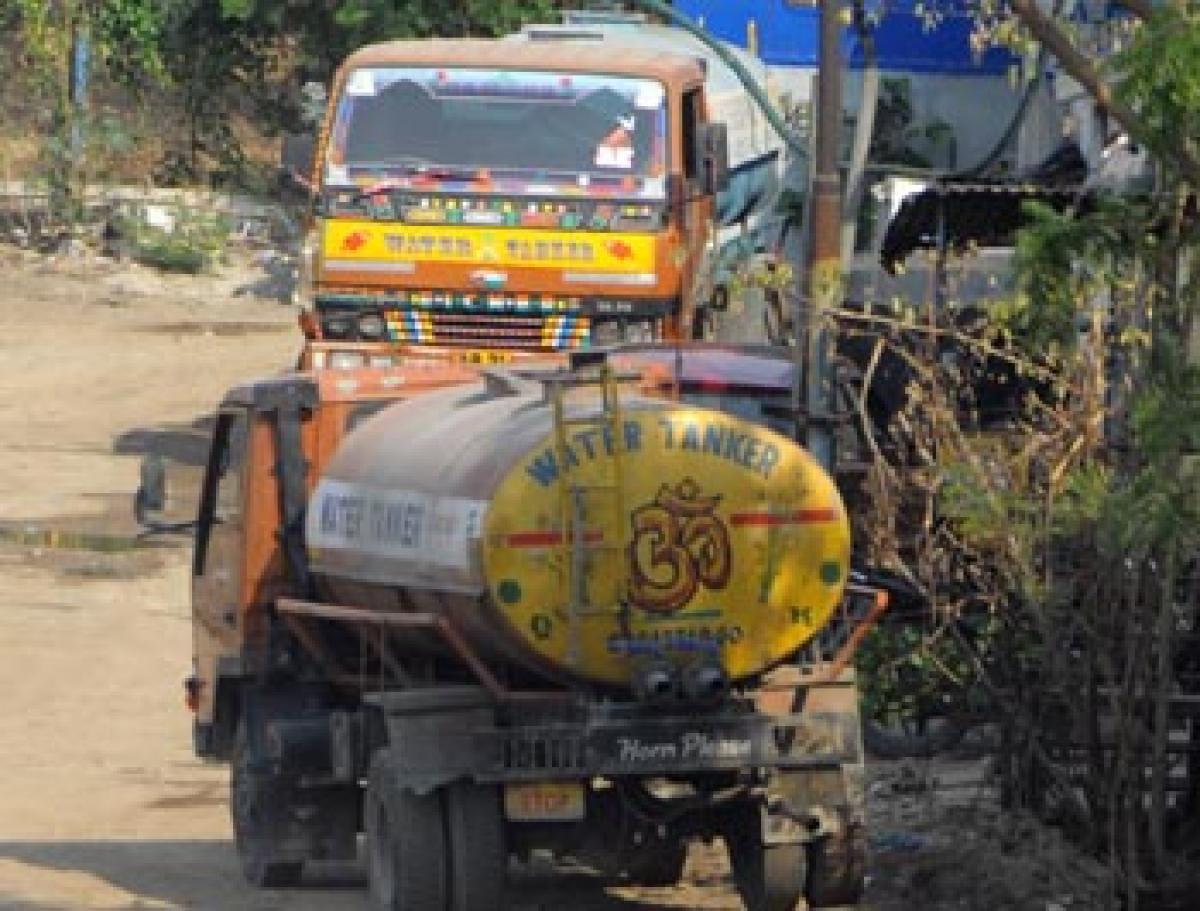 Rise of water mafia