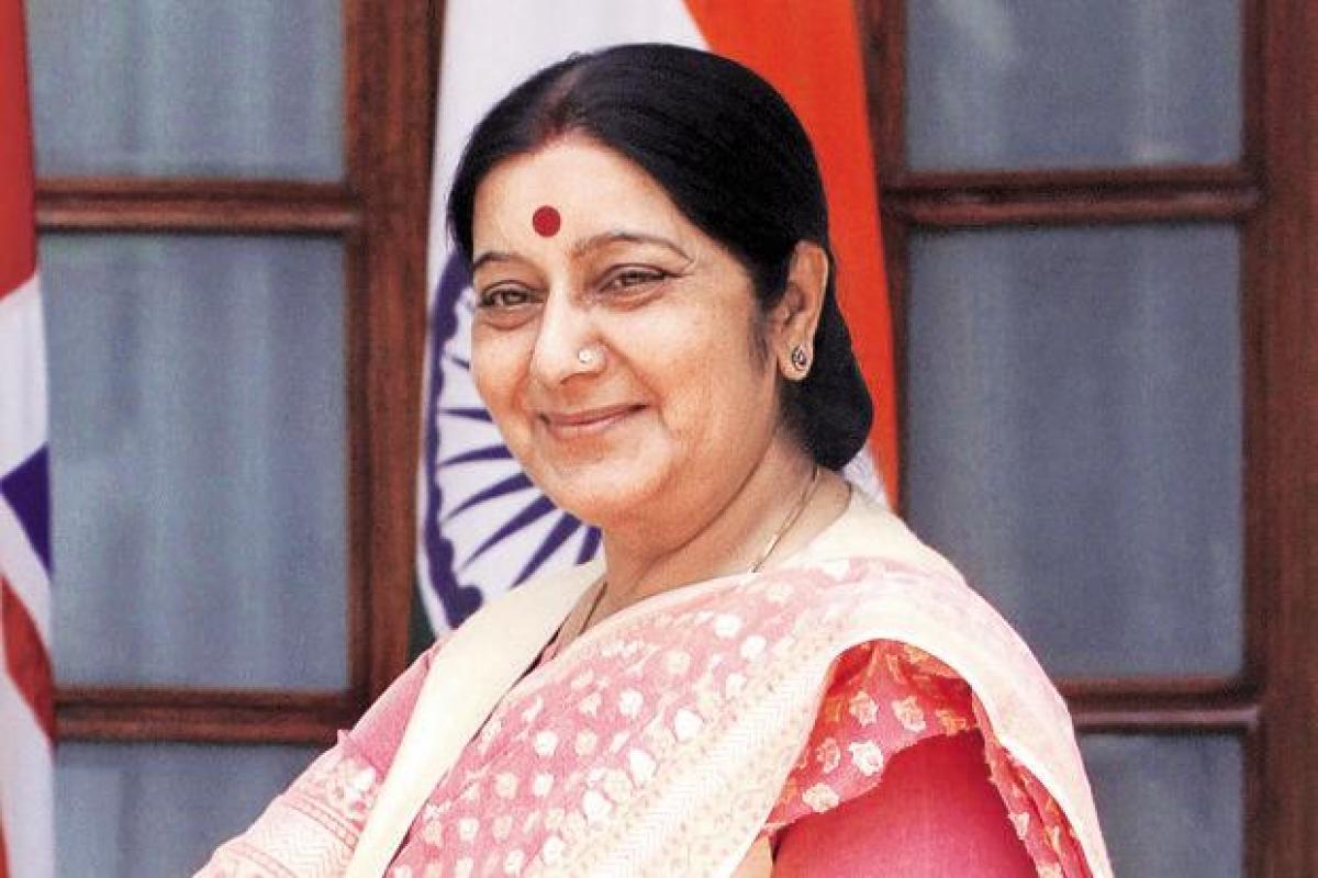 Sushma Swaraj helps cancer-stricken man in France