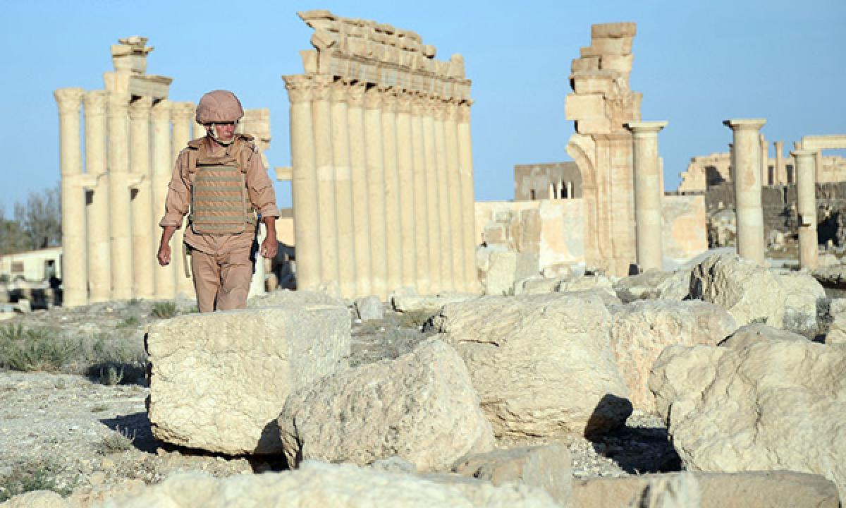 IS again in Palmyra: US inconsistent in fighting terror, says Russia