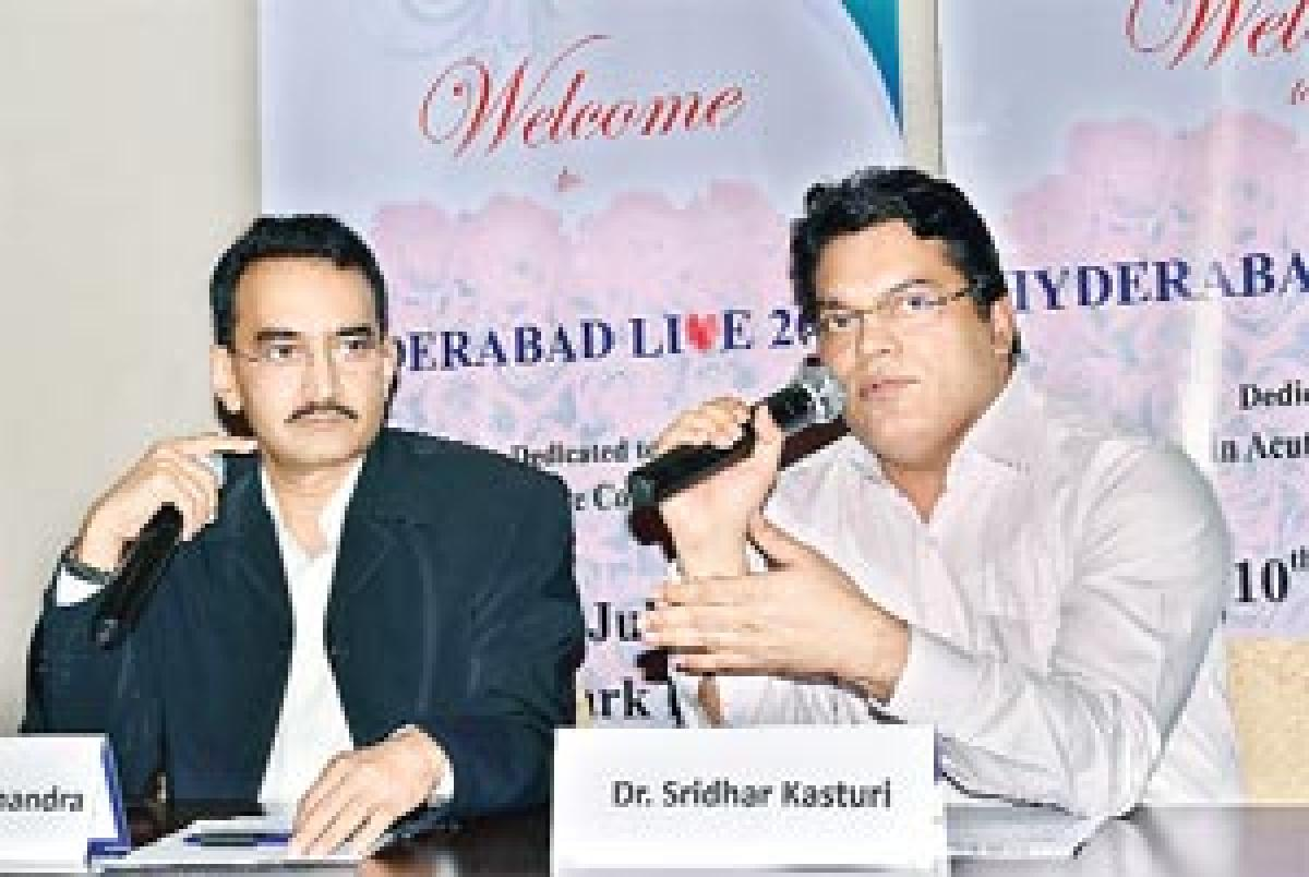 Hyderabad Live to focus on acute heart attacks