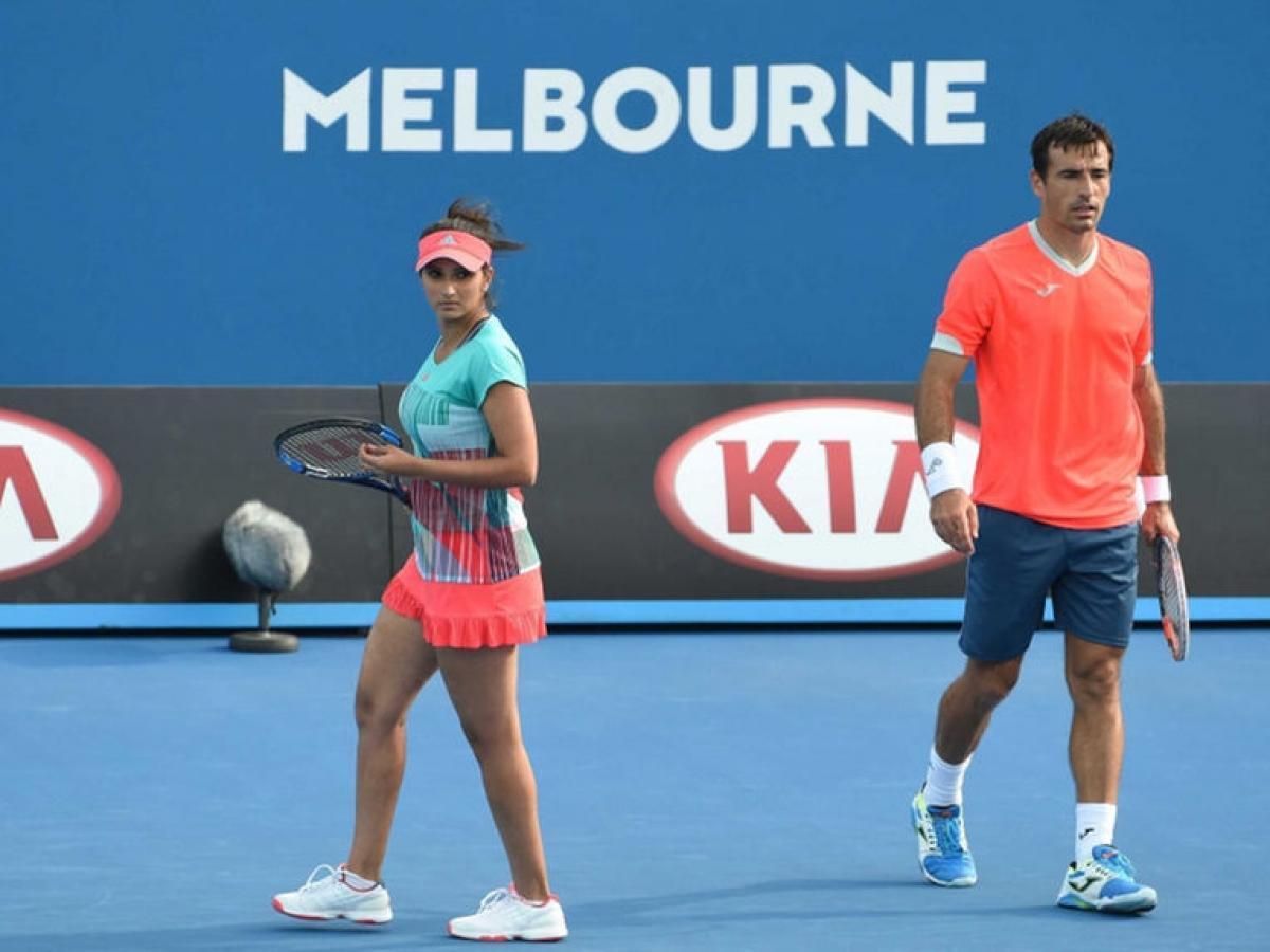Sania-Dodig in Australian Open final