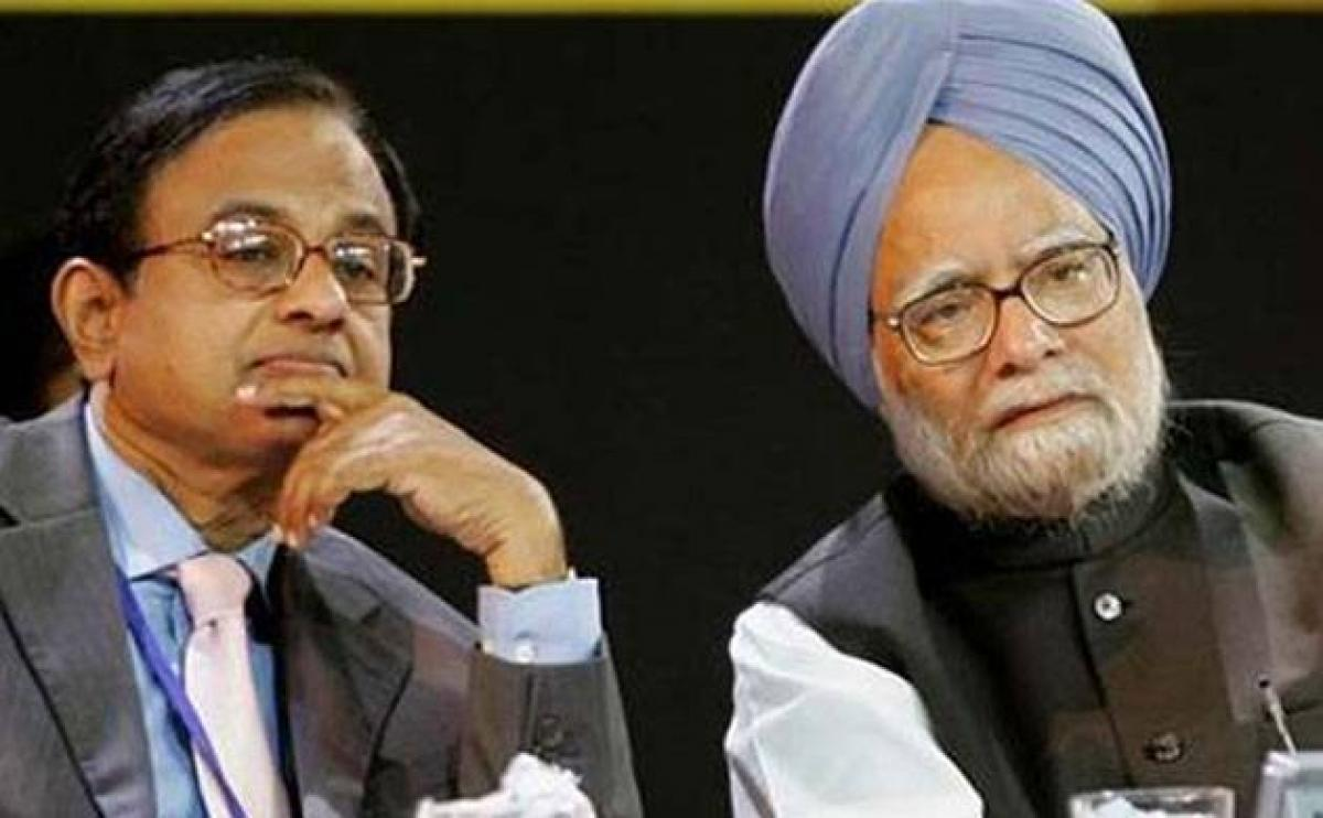 Manmohan, Chidambaram dismiss charges made by BJP that they helped Mallya get bank loans