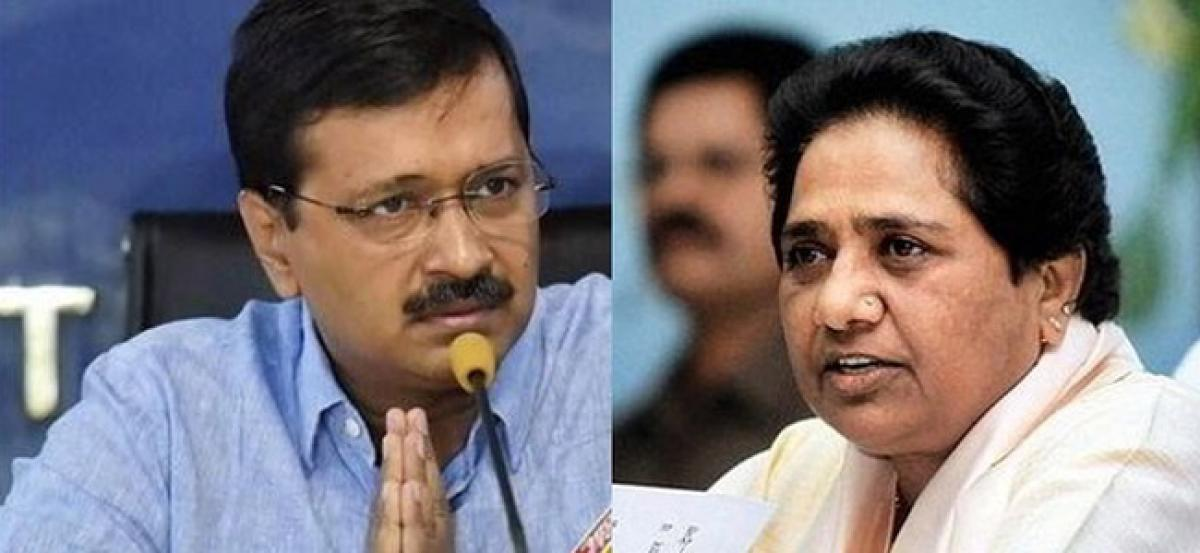 When you win EVMs are fine, when you lose they become defective: Naidu slams Mayawati and Kejriwal