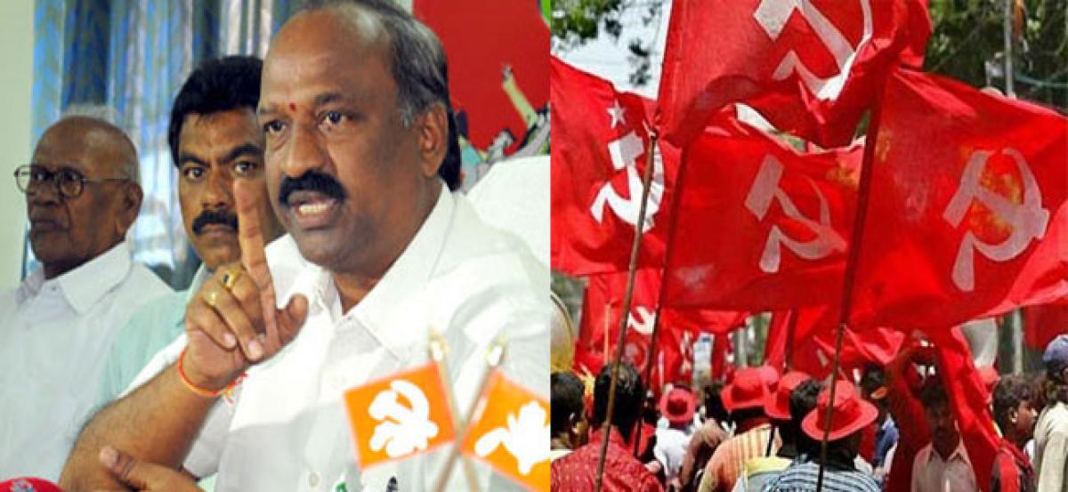 CPI to stage dharna to save Swarajya Maidan