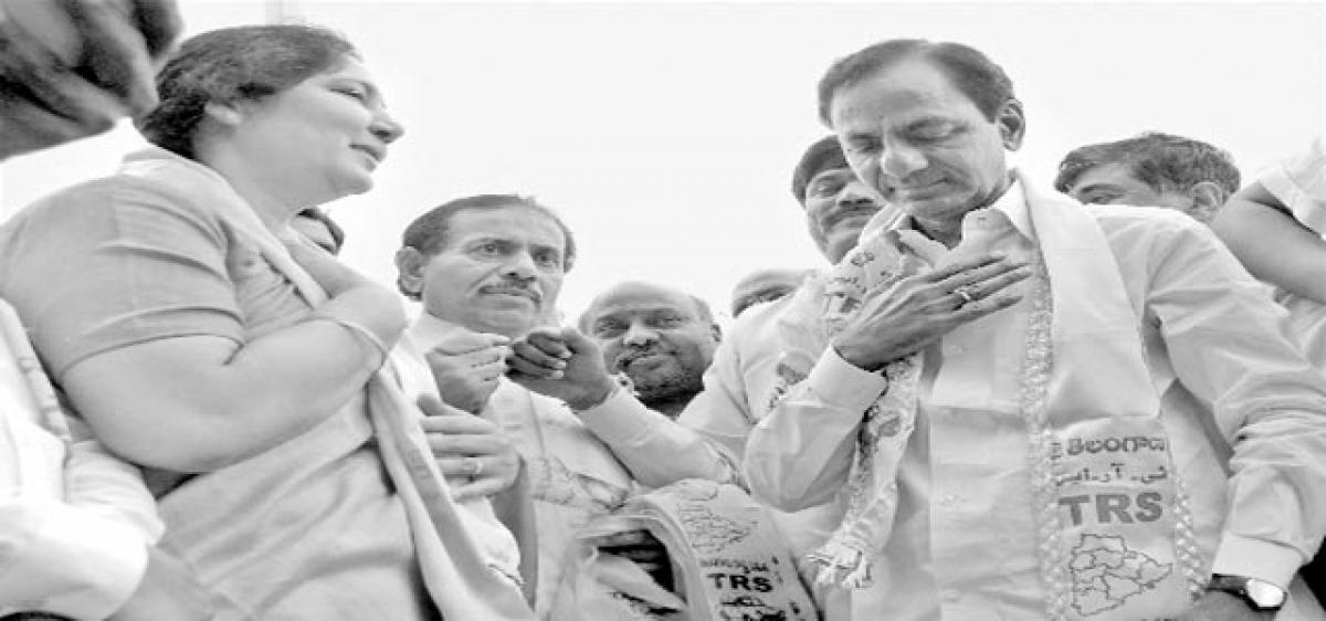 TRS gears up to take on combined oppn onslaught