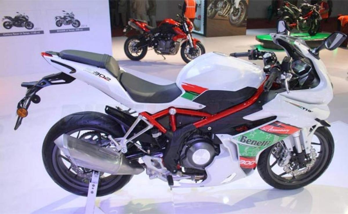 Benelli Tornado 302 – 2016 Auto Expo