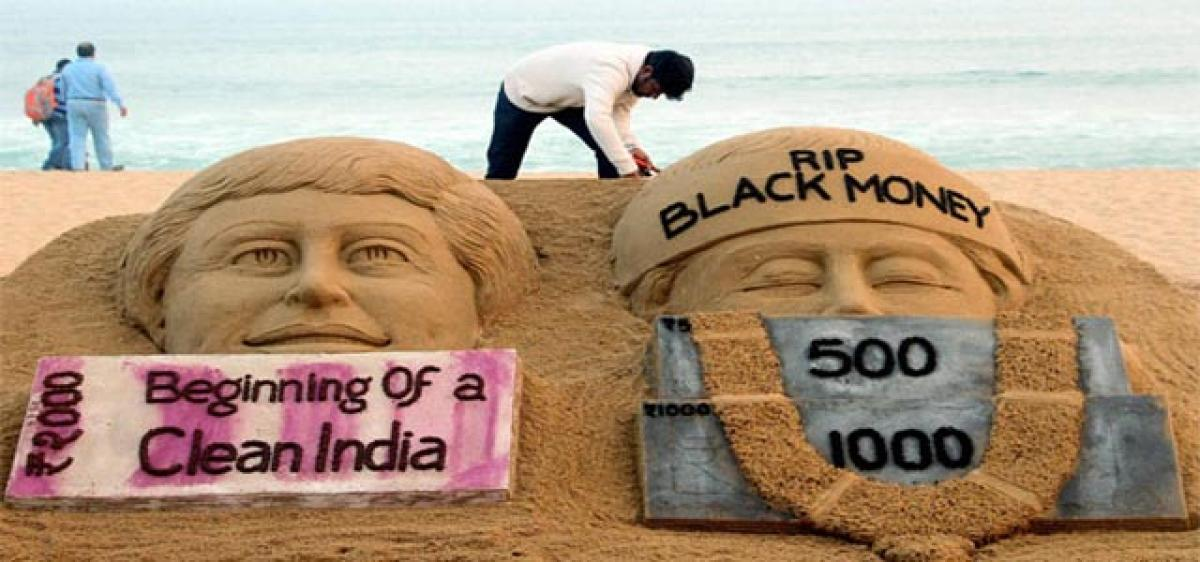 No relief from black money