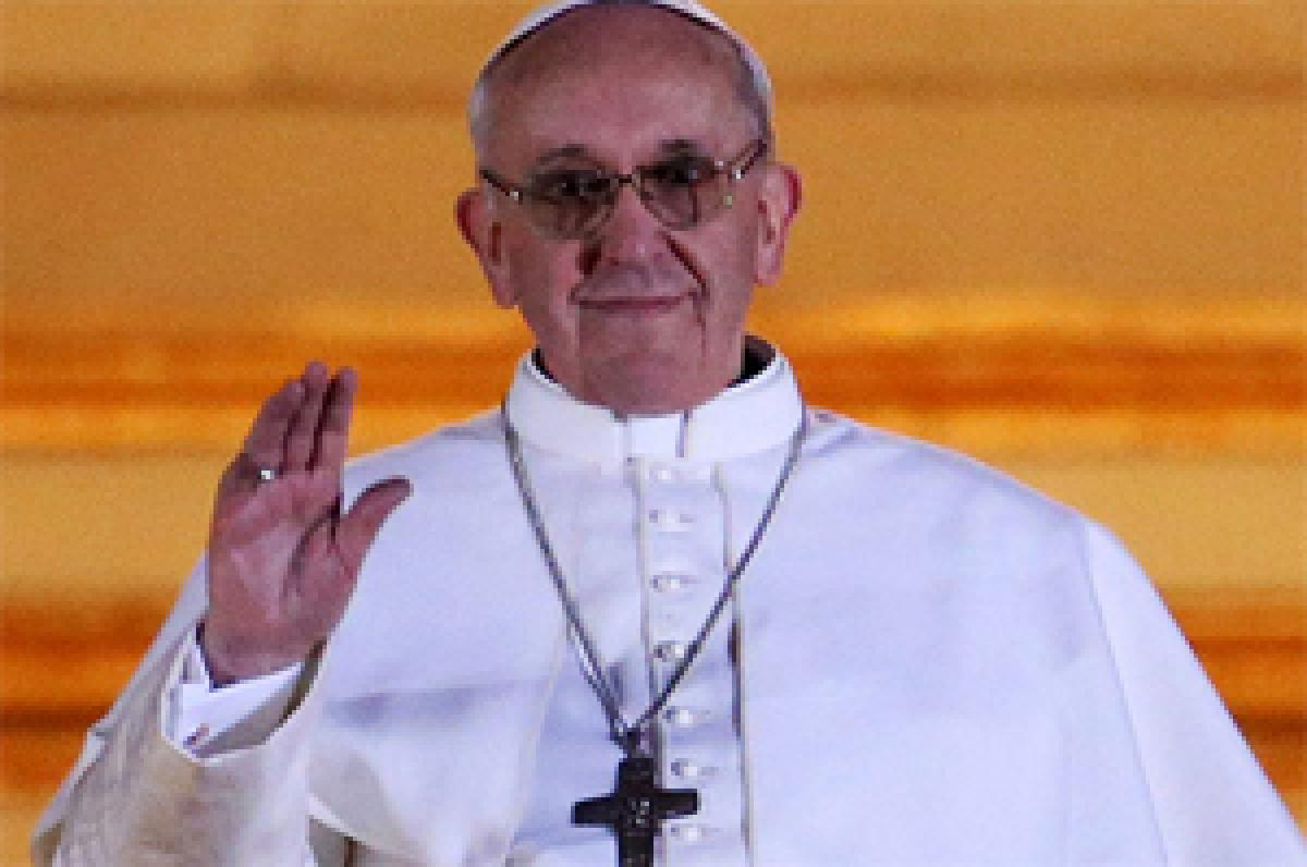Global warming destroying planet, killing animals: Pope Francis