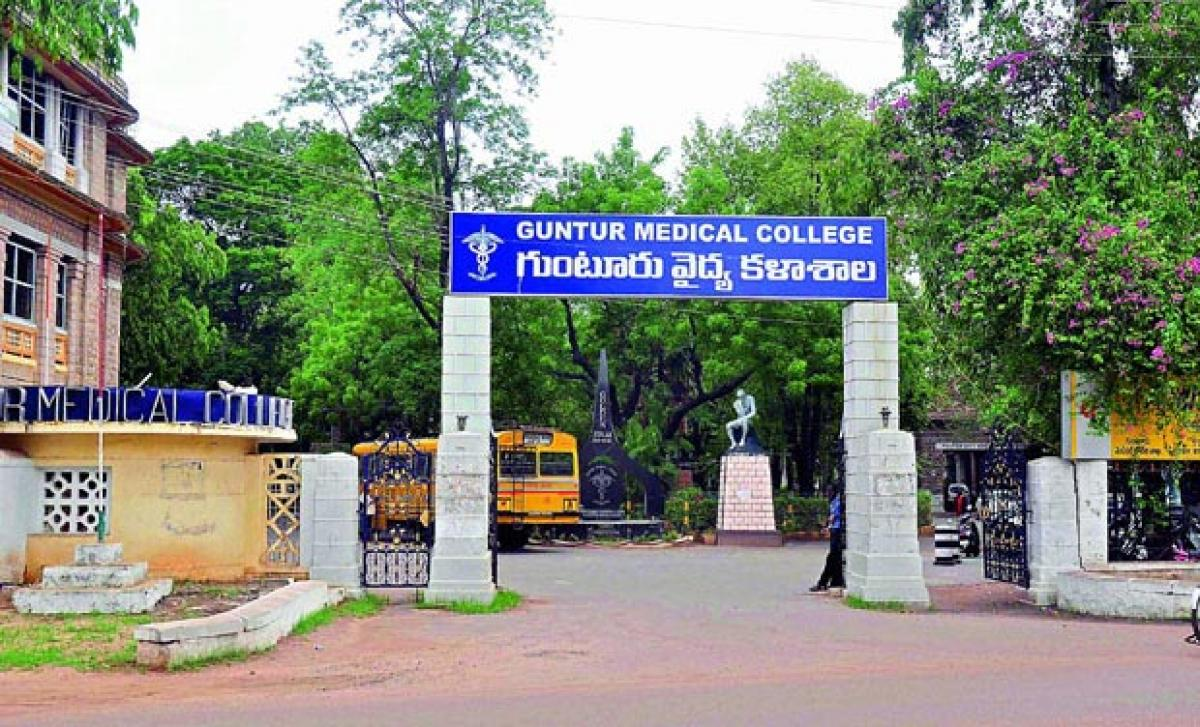 Guntur Medical College seeks MCI nod for more seats in PG courses